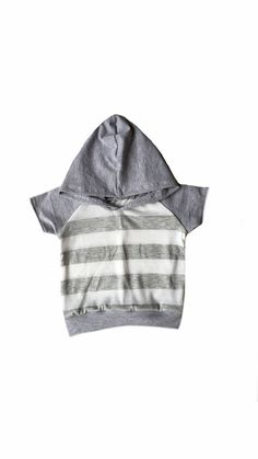 Gray and white stripes Light weight t shirt short by Allsnazziedup