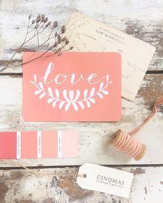 """693 mentions J'aime, 14 commentaires - C I N Q M A I (@cinqmai_shop) sur Instagram : """"N O U V E A U La carte LOVE n'a pas résisté à la douceur et l'envie d'été du nouveau coloris…"""""""
