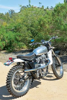 "Star-Crossed Scrambler: BSA-Velocette ""VeloStar"" - Classic British Motorcycles - Motorcycle Classics"