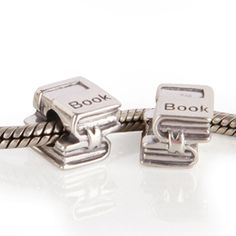 A Good Read Sterling Silver Charm $17.49