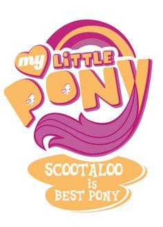 best pony logos | Scootaloo is best pony by ~PrettyCupcakes on deviantART