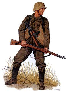 Gefreiter (Pionier Bataillon), 86. Infanterie-Division, Kursk Bulge, July 1943.