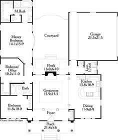 U Shaped Floor Plans for lindsey, i like u shaped homes, with the court yard in the