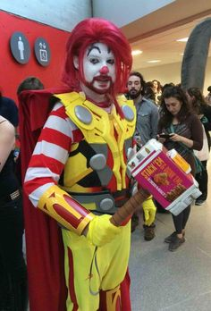thorronald mcdonald cosplay