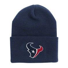 38f7c7ca Houston Texans Cuffed Knit Hats Nfl Houston Texans, Nfl Jerseys, Fan Gear,  Caps
