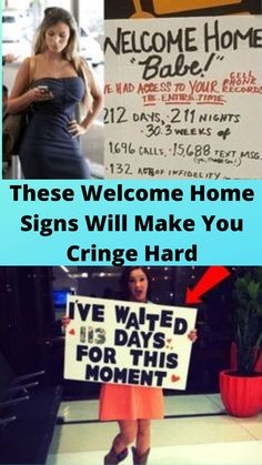 These #Welcome Home #Signs Will #Make You Cringe Hard