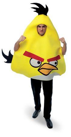 Rovio Angry Birds - Yellow Angry Bird Adult Costume cfa6265463b2