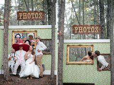 Backdrop em casamentos.
