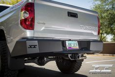 Magnum Rear Bumper for the 2014 Toyota Tundra. 2014 Toyota Tundra, Tundra Truck, Toyota Trucks, Bar Lighting, Hot Rods, Badass, Pure Products, Cars, Toyota Cars