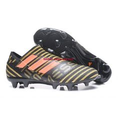 Buy Adidas Nemeziz Messi 17 360 Agility FG Football Boots - Core Black/Tactile Gold Metallic/Solar Red - Adidas Nemeziz 17 360 Agility FG (Your Store) Adidas Nemeziz, Adidas Soccer Shoes, Adidas Football, Nike Soccer, Cheap Football Boots, Football Shoes, Messi, Cheap Soccer Cleats, Discount Adidas