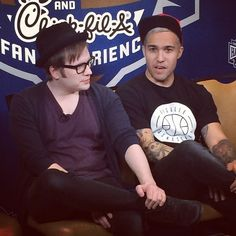 Patrick and Pete ♡♥♡♥