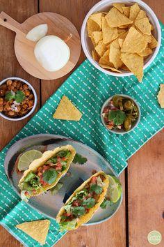Definitely need to make Cadry's chickpea tacos for our next taco night!  via @cadryskitchen
