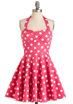 Traveling Cupcake Truck Dress in Pink, #ModCloth