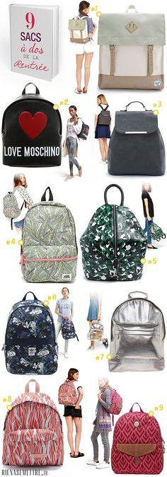 Acheter sac à dos tendance pour femme - Sac féminin 2016 2015 - Mi-pac - Moschino