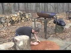 Building A Forge (See Discription)