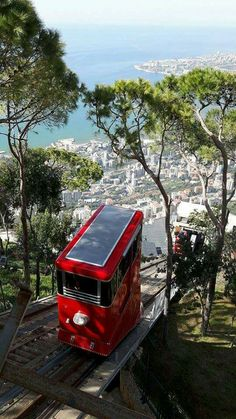 'The final part of the journey [to Harissa] is completed by funicular railway ... and culminates in a fantastic symmetrical vista of the Bay of Jounieh.' Lebanon: the Bradt Guide www.bradtguides.com