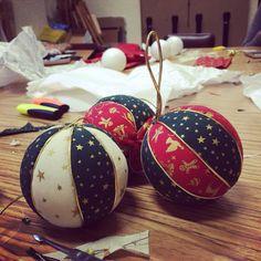 Bolas de Navidad!! Christmas balls!!