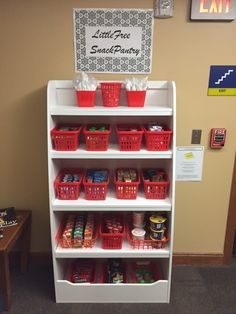 Grand Rapids Community College's English department has a free snack pantry that's open to all students.