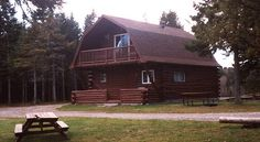 Hunting & Fishing Accommodation, Alma, New Brunswick Canada New Brunswick Canada, Hunting, Fishing, Cabin, House Styles, Home Decor, Decoration Home, Room Decor, Fishing Rods