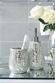 Buy Silver Sparkle Soap Dispenser from the Next UK online shop  £12