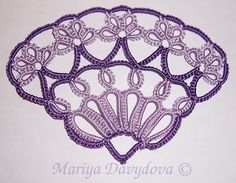 fan by mariya's tatting