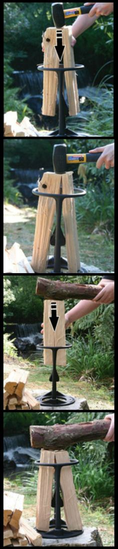 If you need to create kindling for your campfire, wood stove, fireplace or pizza oven and you don't want to risk injury by using an axe, the Kindling Cracker is just what you need. Built in New Zealand with an award-winning, patented design, it's the safer, faster and easier way to make the best kindling for your fire.