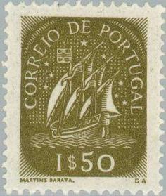 Znaczek: Caravel (15th Cty.) (Portugalia) (Caravel) Mi:PT 744,Sn:PT 705,Yt:PT 710,Afi:PT 699