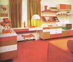 The Interiors of Mid-Century Modern | WANKEN - The Art & Design blog of Shelby White