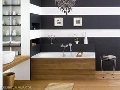 My favourite. Wood Bathroom, Gaudi, Bathtub, Design Inspiration, House Design, Interior Design, Home Decor, Stripes, Diy