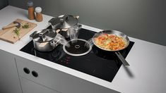 BORA Basic Extractor Hob | High Performance Hob with Integrated Extraction | Quiet | Simple to Clean | No Cooking Smells #bora #hobs #germanengineering #kitchens