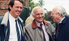 Kevin Whately, John Thaw, and James Grout