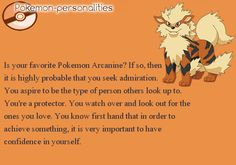 Arcanine... i know someone like this :3