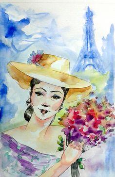 Springtime in Paris - Luisa Dalartesa