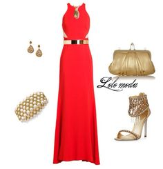 Elegant summer party outfit!