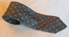 Vintage Brooks Brothers Makers Silk patroon door VintageTieRack