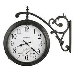 "Found it at Wayfair - Indoor / Outdoor 15.25""  Luis Quartz Wall Clock"