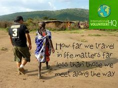 Exactly! So excited to volunteer in Africa!