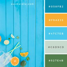 Fantastic Pic Color Palette blue Concepts If you are a newcomer or even a vintage side, the way you use color can be the single most contentio Hex Color Palette, Color Schemes Colour Palettes, Blue Colour Palette, Color Palate, Best Color Combinations, Summer Color Palettes, Bright Color Schemes, Bright Colors, Theme Color