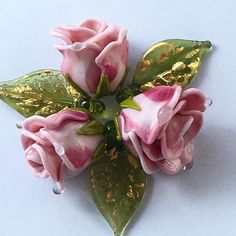 #roses #flowers #lampwork #my365beads2017  #beading #petrovnalampwork #handmade  #лэмпворк #бусины #стекло