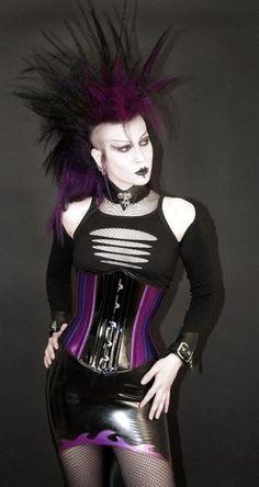 #Deathrock #corset #goth