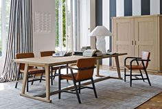 Table: RECIPIO - Collection: Maxalto - Design: Antonio Citterio_ 230 x 105 / 290 x 105