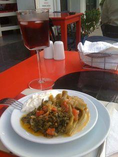 Twitter / @sevcanilhan: @AdaGelincik Adanın güzel gelincik şurubu ve zeytinyağlı gelinciği // Ada Cafe® Bozcaada