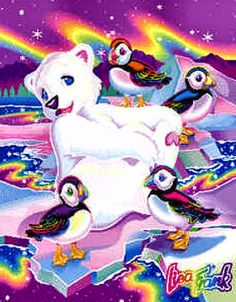puffins and polar bear - Mommy had this stationary when she was little