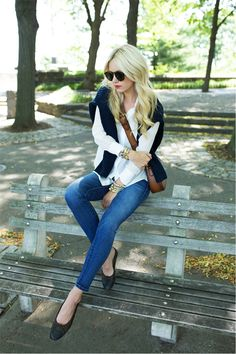 Blair Eadie of Atlantic-Pacific // fall fashion.