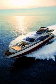 I want this boat! Luxury yacht Azimut Grande 120SL :: Yacht parts & Watermakers :: www.boatshop24.com