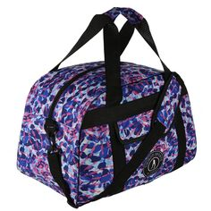 Upgrade your gym bag to the fabulous Festival Fever, a tie-dye print in striking shades of blue, indigo and pink. This is your essential travel companion for work, home, school or gym. You can even pack in an entire weekend's worth of gear for mini-breaks!  With practical double handles and removable long strap (complete with printed shoulder protector), this bag also includes an internal pocket, external pouch pocket and is reinforced to keep your belongings safe and dry. Gym Bags, Travel Essentials, Shades Of Blue, Indigo, Tie Dye, Pouch, Pocket, Printed, Shoulder