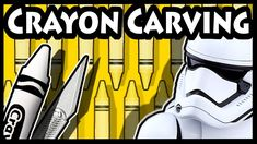 Caryon Carving Art, hand carved Stormtrooper on the tip of a Crayola crayon. Stormtrooper Art, Pencil Carving, Star Wars Drawings, Speed Art, Star Wars Fan Art, Crayon Art, Color Pencil Art, Marker Art, Art Challenge