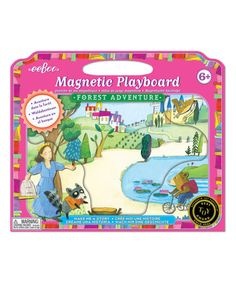 Another great find on #zulily! Make a Story 'Forest Adventure' Magnet Play Board #zulilyfinds