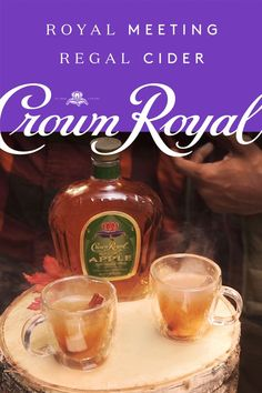 A cold day calls for friends, family, and warm winter cocktails. Whether you're outdoors or hosting at home, take a break from the original Hot Toddy and try a spiked Regal Cider - perfect for day drinking or enjoying at night. For this simple, DIY recipe, combine 1.5 oz of Crown Royal Regal Apple, 2 oz cider, and 1 splash hot water in your favorite mug. Add cinnamon sticks for an easy, festive touch. This sweet, spicy, and smooth whisky drink is a cozy way to take on the cold weather.