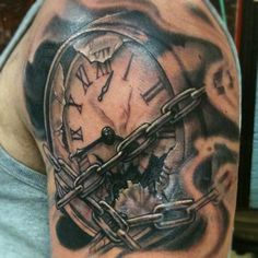 clock arm tattoos - Google Search